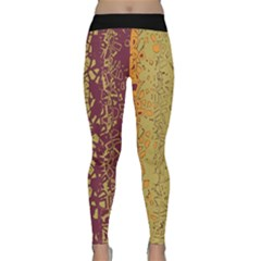 Scattered Pieces Yoga Leggings  by LalyLauraFLM