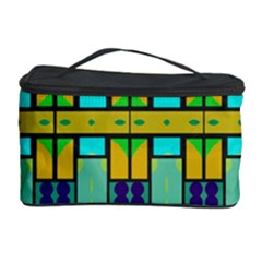 Different shapes pattern Cosmetic Storage Case by LalyLauraFLM