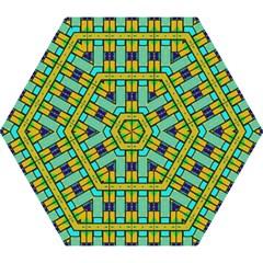 Different Shapes Pattern Mini Folding Umbrella
