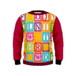 abc - Kids  Sweatshirt