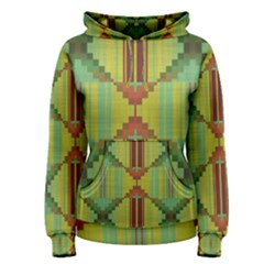 Tribal Shapes Pullover Hoodie by LalyLauraFLM