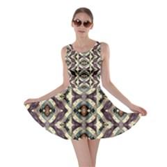 Geometric Abstract Grunge Skater Dress