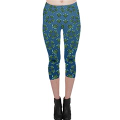 Cebu Turtles Capri Leggings  by retz