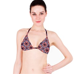 Heart Shaped England Flag Pattern Design Bikini Top by dflcprintsclothing
