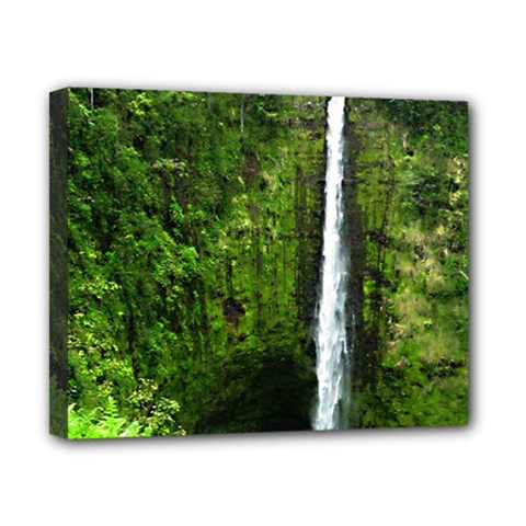 Akaka Falls Canvas 10  X 8  (framed) by bloomingvinedesign