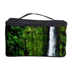Akaka Falls Cosmetic Storage Case by bloomingvinedesign