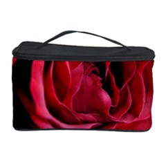 An Open Rose Cosmetic Storage Case by bloomingvinedesign