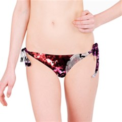 Bokeh Bats In Moonlight Bikini Bottom by bloomingvinedesign