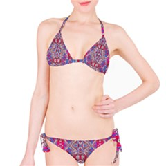 Colorful Ornate Decorative Pattern Bikini