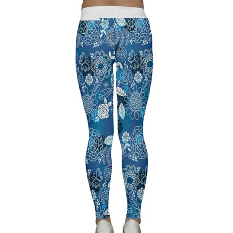 Classic Yoga Leggings Back