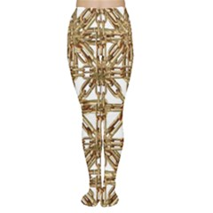 Chain Pattern Print Tights by dflcprintsclothing