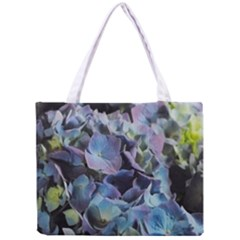 Blue And Purple Hydrangea Group Tiny Tote Bag by bloomingvinedesign