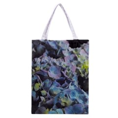 Blue And Purple Hydrangea Group Classic Tote Bag by bloomingvinedesign