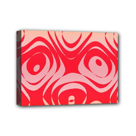 Gradient Shapes Mini Canvas 7  X 5  (stretched) by LalyLauraFLM