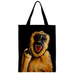 Monkey Bastard Classic Tote Bag by retz