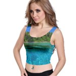 lagoon crop - Crop Top