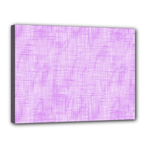 Hidden Pain In Purple Canvas 16  X 12  (framed) by FunWithFibro