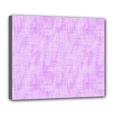Hidden Pain In Purple Deluxe Canvas 24  X 20  (framed) by FunWithFibro