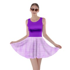 Hidden Pain In Purple Skater Dress by FunWithFibro