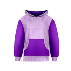 Hidden Pain In Purple Kid s Pullover Hoodie by FunWithFibro