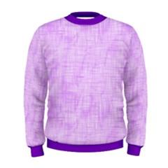 Hidden Pain In Purple Men s Sweatshirt by FunWithFibro