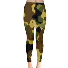 Camo Pattern  Leggings  by Colorfulart23