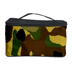 Camo Pattern  Cosmetic Storage Case by Colorfulart23