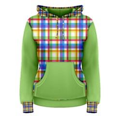 Plaid Women s Pullover Hoodie