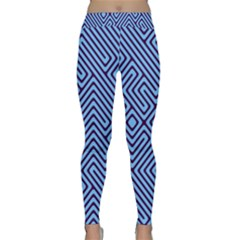 Blue Maze Yoga Leggings