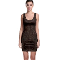 Tribal Geometric Vintage Pattern  Bodycon Dress by dflcprintsclothing