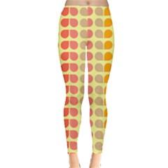 Colorful Leaf Pattern Leggings  by creativemom