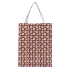 Cute Floral Pattern Classic Tote Bag