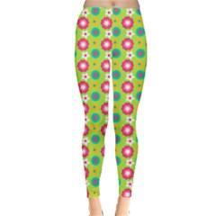 Cute Floral Pattern Leggings  by creativemom