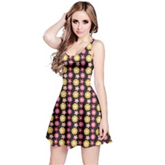 Cute Floral Pattern Sleeveless Dress by creativemom