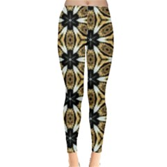 Faux Animal Print Pattern Leggings  by creativemom