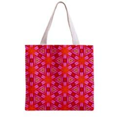 Cute Pretty Elegant Pattern Grocery Tote Bag by creativemom