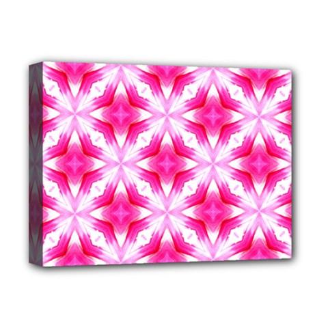 Cute Pretty Elegant Pattern Deluxe Canvas 16  X 12  (framed)  by creativemom