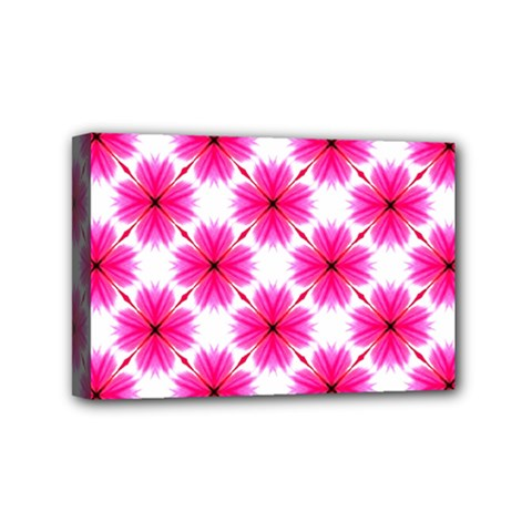 Cute Pretty Elegant Pattern Mini Canvas 6  X 4  (framed) by creativemom