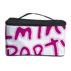 I Am The Party Typographic Design Quote Cosmetic Storage Case by dflcprints