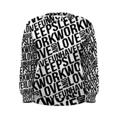 Sleep Work Love and Have Fun Women s Sweatshirt by dflcprintsclothing