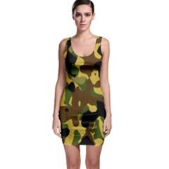 Camo Pattern  Bodycon Dress by Colorfulart23