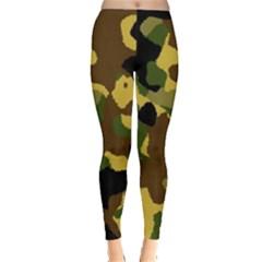 Camo Pattern  Leggings  by Colorfulart23
