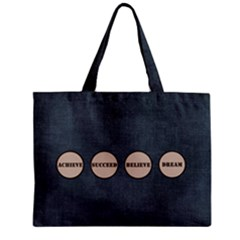 Zipper Mini Tote Bag