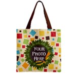 May I Zipper Tote 1 - Zipper Grocery Tote Bag