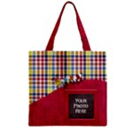 Silly Summer Fun Zipper Tote 1 - Zipper Grocery Tote Bag