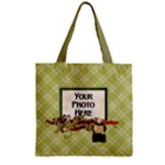 Septembers Blush Zipper Tote 1 - Zipper Grocery Tote Bag