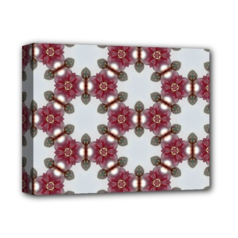Cute Pretty Elegant Pattern Deluxe Canvas 14  X 11  (framed) by creativemom