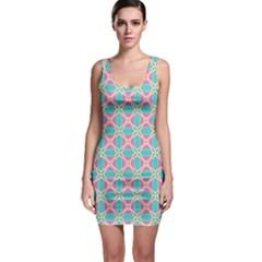 Cute Pretty Elegant Pattern Bodycon Dress