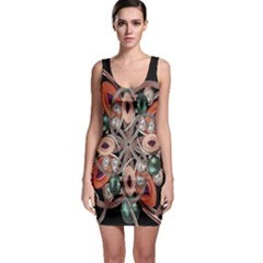 Luxury Baroque  Bodycon Dress by dflcprintsclothing