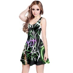Officially Sexy Panther Collection Green Sleeveless Dress